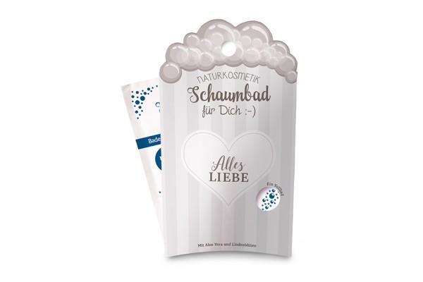 """Naturkosmetik Schaumbad """"Alles Liebe"""" - Gipfel Gruß, 113832, 4027268278954"""