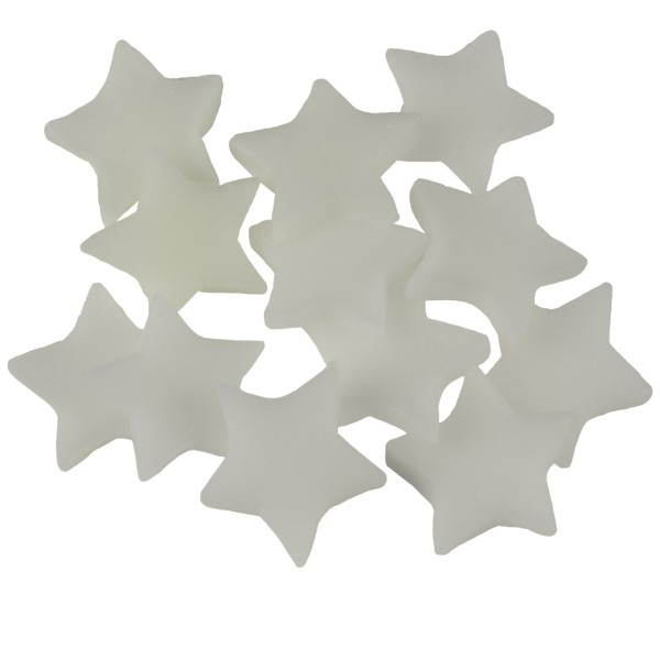 Little Hotties Duftwachs Delicate White Tea Aroma, Duftöl , Raumduft, Duftmelts, weiß, Sterne