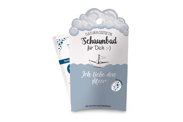 """Naturkosmetik Schaumbad """"Ich liebe das Meer"""", 113813, 4027268288328"""