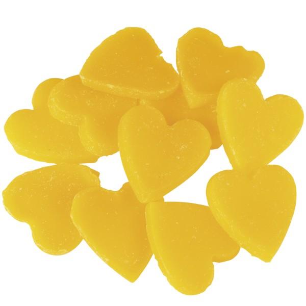 Little Hotties Duftwachs Banana - Aroma Banane, Duftöl - Raumduft, Duftmelts, gelb, Herzen, Herzchen