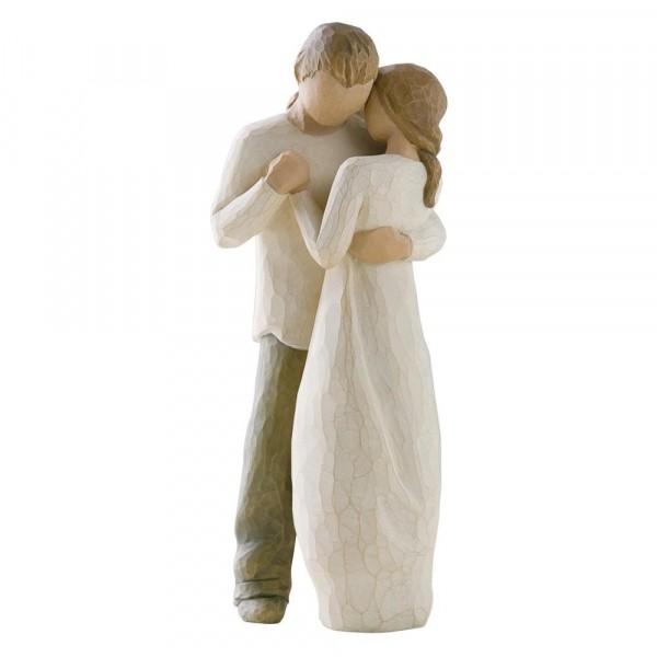 Willow Tree Figur Promise, Versprechen der Liebe, Figur zur Hochzeit