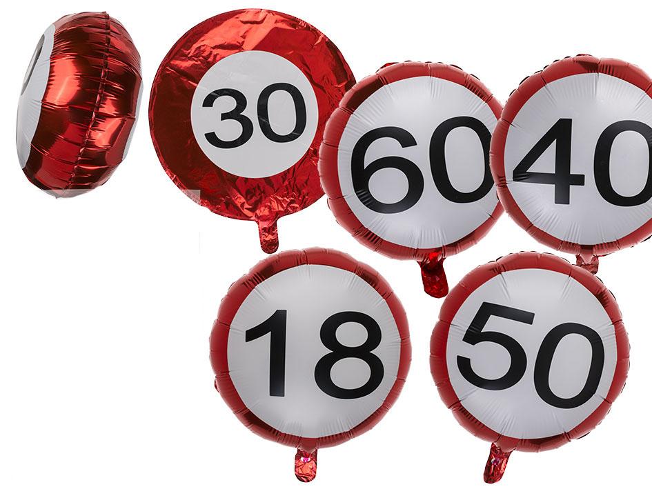 8 Luftballons Zahl 18 Fur Geburtstag Karneval Universe