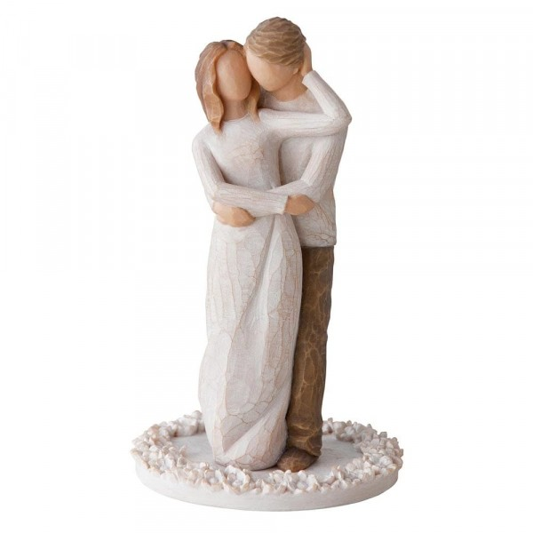 "Willow Tree Kuchenfigur Figur ""Together"" Cake Topper"