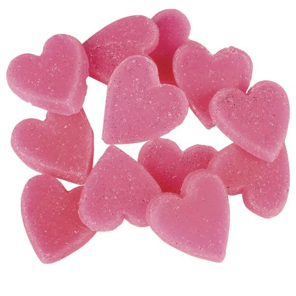 Little Hotties Duftwachs Jelly Baby Aroma, Duftöl , Raumduft, Duftmelts, pink, Herzen, Herzchen