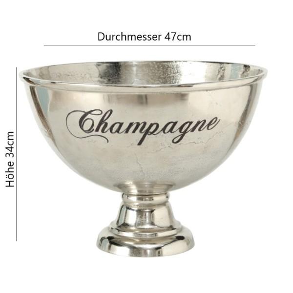 Edler XXL Champagnerkühler Sektkühler silber, 7100500, 4020607428010