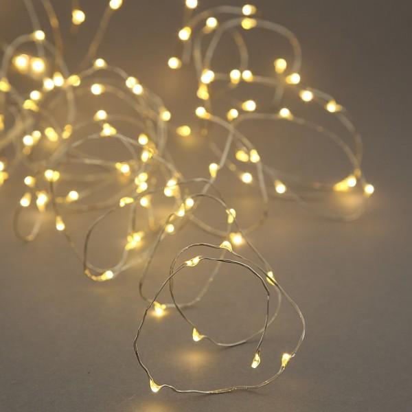Micro LED Kaskade Lichterkette mit Timer, Cascade Lichterbündel mit 600 LED, 2001259, 4020607750333