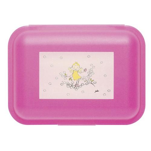 Mila Design with a smile Brotdose Elfentraum, Elfe, Prinzessin, Butterbrotdose, Lunchbox, 24019, 4045303240193