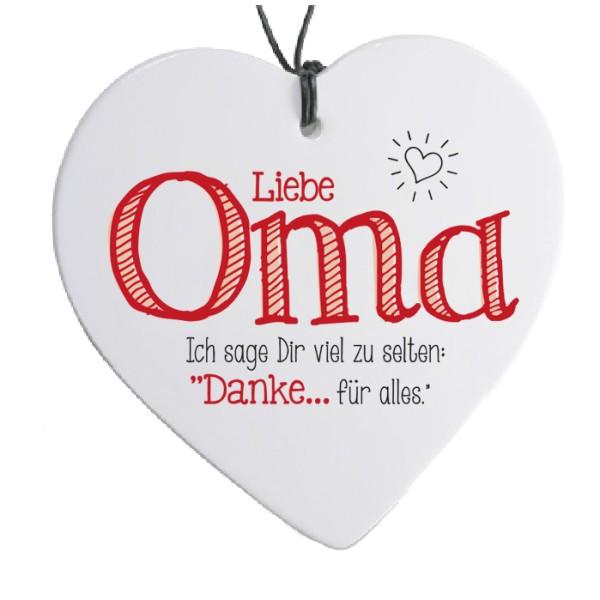 Herz Mit Spruch Liebe Oma H 14 Cm Herz Schild Mit Moitv