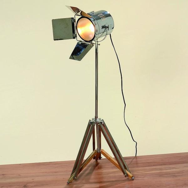 stehlampe spot h 100 cm studiolampe g nstig kaufen malou zauberhafte dekowelt. Black Bedroom Furniture Sets. Home Design Ideas