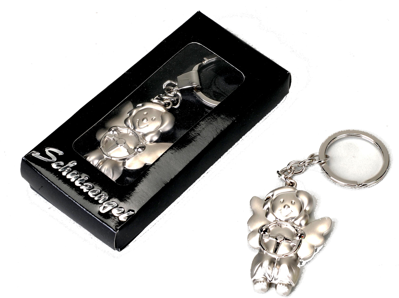 100669 Metall-Schutzengel Schlüsselanhänger