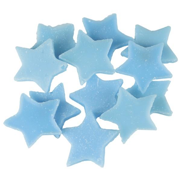 Little Hotties Duftwachs Oceanic Wave - Meeresduft Aroma, Meer, Duftöl , Raumduft, Duftmelts, blau, Sterne