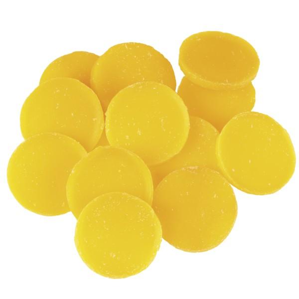 Little Hotties Duftwachs Lemon - Zitronen Aroma, Duftöl , Raumduft, Duftmelts, gelb, Kreise