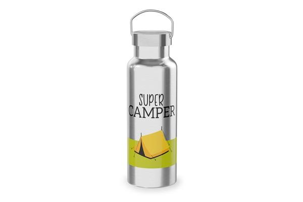 "Edelstahl Thermoflasche ""Super Camper"", 539617, 4027268281749"