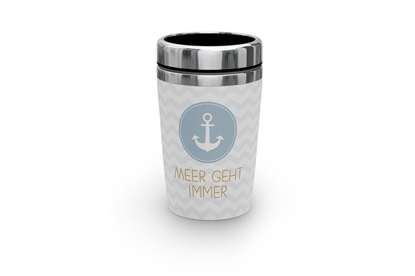 Thermobecher to go / Coffee to go Becher Meer geht immer